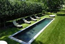 Inspired Outdoor Spaces: Pools / Pools + Docks + Decks / by Lil Springer