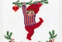 NEEDLE X-stitch gnomes, elves, nisse, trolls / by Tere Wood