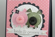 Cards and tags / homemade card, tag and gift bag ideas - another thing I love to do / by Christine Bird