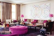 Living Rooms, Grand Salons, Reception Rooms / by Janet Lohman