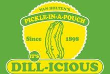 I heart pickles / living the pickle lifestyle and loving it! / by Van Holten's