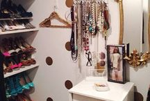 Let's Make My Closet Pretty / Inspiration for transforming my closet into a pretty dressing room / by The Dazzling Diva