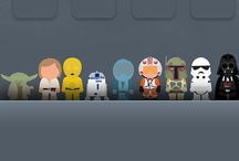 Star Wars Fan Art / Look for my other Star Wars boards by theme. / by Jennifer Bell