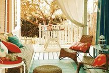 PORCH / Must have for reading / by Michelle Brunet