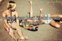friends? More like sisters  / this ones for u bb / by em