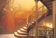 Stairs and banisters / by mary beth