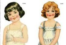 Paper Dolls / by Brenda Dunlap