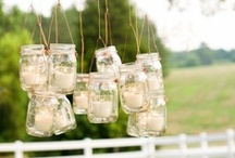 it started with MASON JARS / by Linda @ it all started with paint blog
