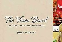 THE VISION BOARD BOOK see inside / by Joyce Schwarz
