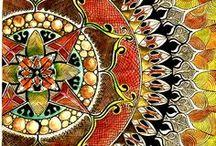 mandala /  Maṇḍala (मण्डल) is a Sanskrit word meaning circle     oooooooooooooooooooooooooooooooooooooooooo / by Marylene Lynx