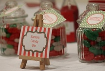 Christmas Party Favors / Have party favors ready for your guests at your Christmas parties and celebrations!  See more party ideas at CatchMyParty.com. / by Catch My Party