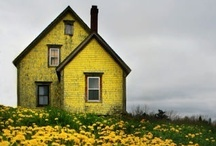 HOME EXTERIORS THAT I LOVE / by Leslie Messina Dawson-Mouzis