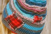 1 hats, gloves, scarves / Anything to be worn outside to help keep warm / by YARN MOMMA