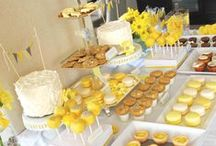 DESSERT TABLES for BABY SHOWERS / by Leslie Messina Dawson-Mouzis