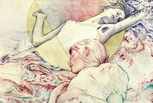 Artworks and Prints / Lovely artworks by lovely people. / by Quinnn Samm