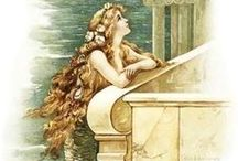 Visions of Mermaids dance in my head / The Mermaid......my alter ego. / by Alda LaFerlita Cincinnati