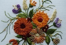 Needlework:  Embroidery / Includes ideas for crazy quilts / by Anita Freeman