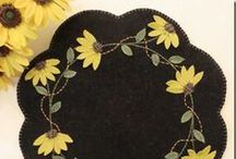Needlework:  Wool Applique & Felting / by Anita Freeman