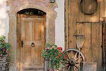 """ Beautiful Doors "" / by Dianne Wolff"