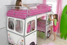 Cutest Kids' Rooms & Beds / Pictures of the most adorable kids' bedroom set-ups.... ...& ideas for how I might like my future child(ren)'s room to look like... :) Nursery ideas included. / by Carly Helliesen