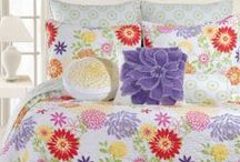 Beautiful Bedding for the Bedroom / Beautiful Bedding for the Home.  Decorate your room with the most beautiful bedding in the world. / by Lesley Stevens