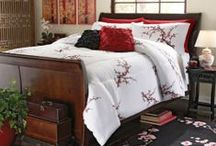 Cherry Blossom Bedding / by Lesley Stevens