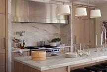 DESIGNER KITCHENS / The kitchen is the hub of any home. If you are looking to get inspiration in kitchen design ... here it is! / by Cristin Priest | Simplified Bee
