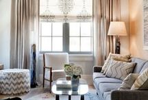 DESIGNER LIVING ROOMS / Living rooms by fabulous interior designers... / by Cristin Priest   Simplified Bee