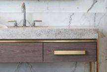 DESIGNER BATHROOMS / some fabulous designer bathrooms... / by Cristin Priest   Simplified Bee