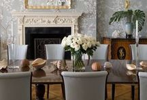 DINING ROOMS / Designer dining rooms... / by Cristin Priest   Simplified Bee