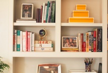 STYLISH BOOKSHELVES / Beautifully styled bookcase and bookshelf inspiration for your home... / by Cristin Priest | Simplified Bee