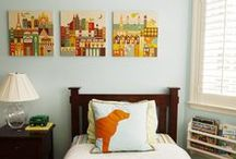 BOY'S BEDROOMS / Designer bedrooms for little boys. / by Cristin Priest   Simplified Bee