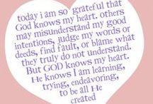 my faith, my spirituality  / by Mary Brown