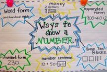 Math - Number Sense / Even and odd, greater or less than, estimating, rounding, etc. / by Natasha Foiles