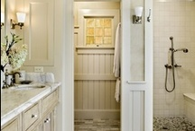 Pinspiring Bathrooms / Mirror + a frame = beautiful bath.  It's what's expected in the bathrooms of today.  / by MirrorMate Frames