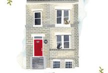 House Blocks and inspiration / by Charise Randell