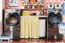 Laundry Room / I'm OBSESSED with vintage inspired laundry rooms..so this is planning for my own someday. :) / by Kayla Edwards