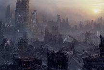 SF Atlas [Cities & Postapocalypse] / by Christian R.