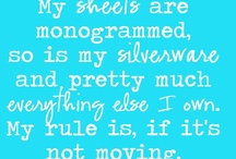 Monogram ideas  / by Leslee Kistler