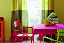 Fabrics, Swatches, Pillows...colors And Patterns / by Leslee Kistler