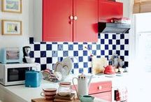 Pretty Kitchen Ideas / Ideas for our eventual new kitchen / by Nia Wearn