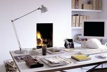 {Inside} A space to create / Home office, study and studio decor inspiration / by Emma Woodhouse
