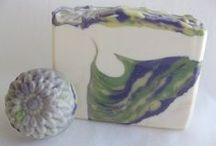 Dandelion Tiger Swirl Soap Challenge / This is the soap that I made for Amy Worden's Soap Challenge Club. / by Margo Long