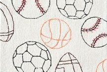 Sports / Great finds for create a sports-themed kid's room or playroom!  / by Rosenberry Rooms