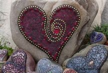 Head over heels for HEARTS! / crafty hearts &  other hearts .....all things hearts / by Barbara Van Arnam