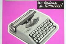 Machines à écrire / by Populaire