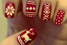 Festive nails / If you can't go a little bit crazy with nail art at this time of year then when can you.... / by Wahanda