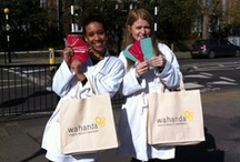Out and about in London / Sometimes, we like to spread the word around London about who we are and what we do. Sometimes, this involves us wearing dressing gowns... / by Wahanda