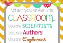 little ones/classroom ideas.  / by Megan Curtis