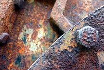 Rock, Tile, Glass, Metal, Wood / by Em Kat
